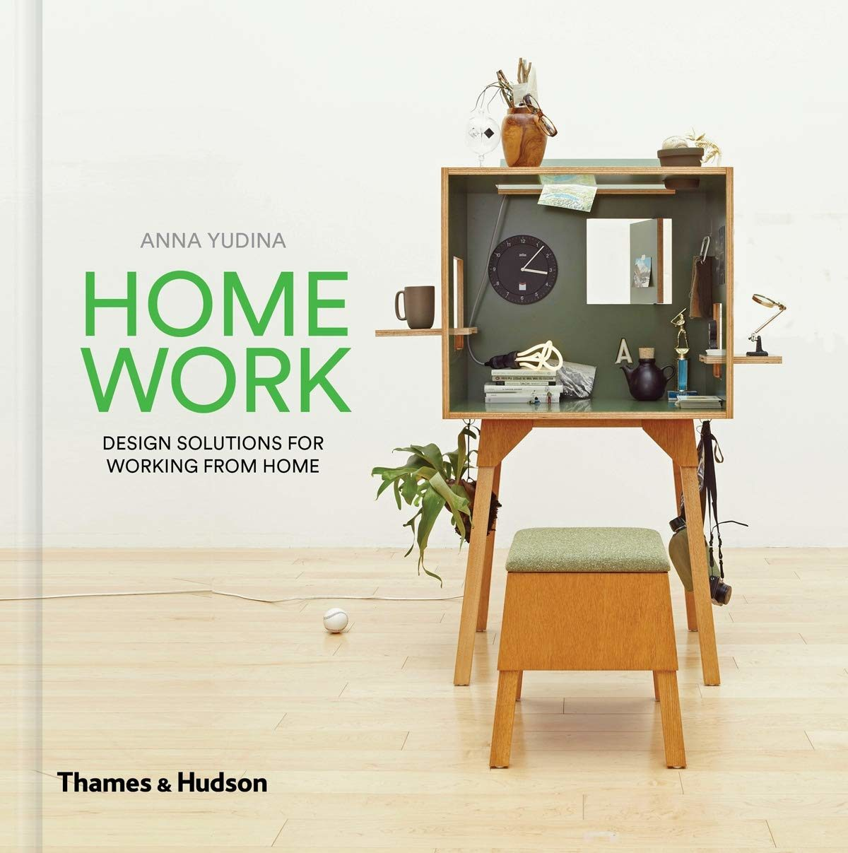 """The bookshelf House project is on new Thames&Hudson Book """"Home Work"""""""